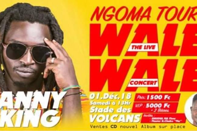 """WANNY SKING DANS """"NGOMA TOUR WALE WALE"""""""