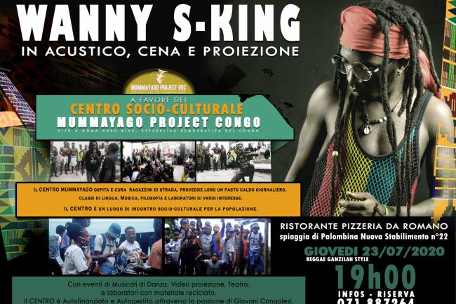 Wanny S-King en double concert en Italie !