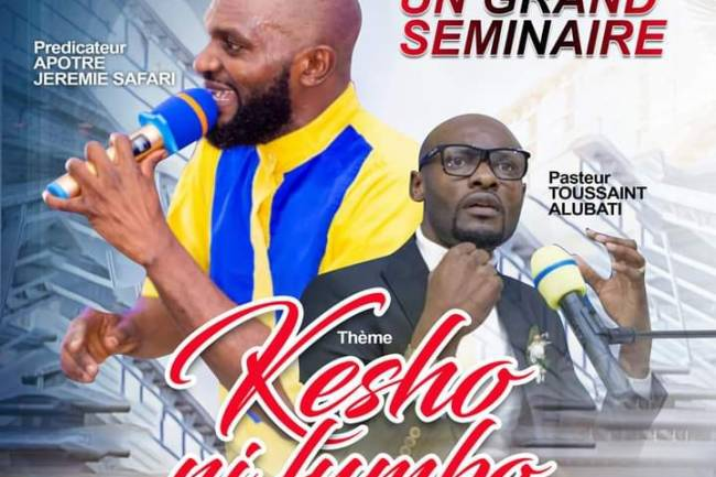 Kesho Ni Fumbo: Grand séminaire très attendu à l'Église MEIP Bethlehem à Goma