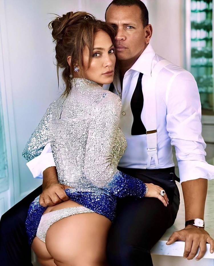 Des images inédites romantiques de Jennifer Lopez et son mari Alex Rodriguez qui enflent la toile !