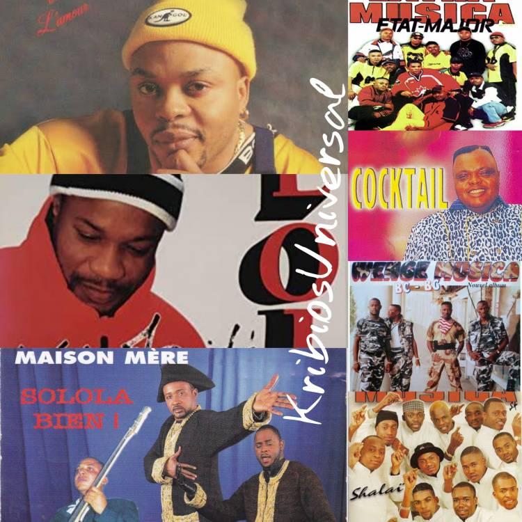 Les 7 Ndombolo qui nous ont fait vibrer aux années 90 à la veille de l'an 2000