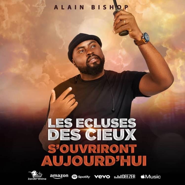 """Alain Ngoy Bishop publie un nouveau clip """"Les écluses des cieux s'ouvriront aujourd'hui"""""""