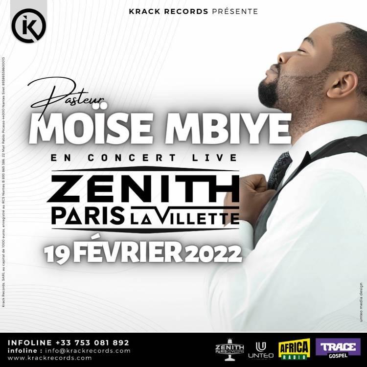 Moïse Mbiye au Zénith de Paris en 2022 !