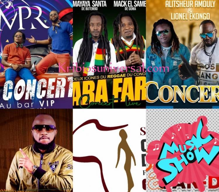 Goma en ébullition : Concerts, soirées acoustiques et Karaokés au rendez-vous... Le 1er mai 2021 !