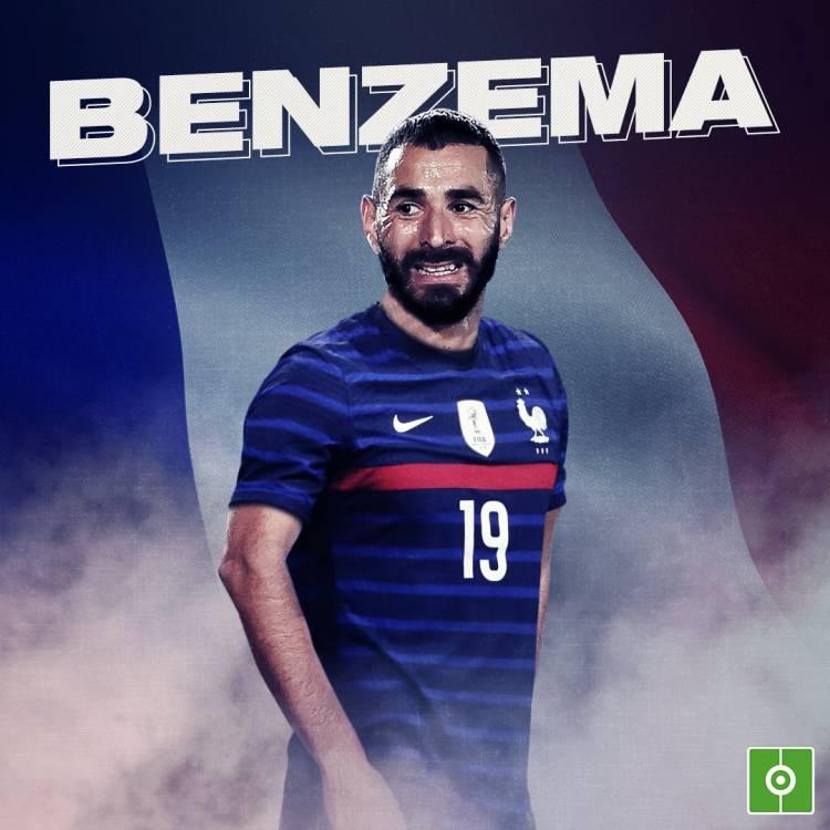Retour en équipe de France, Benzema réagit !