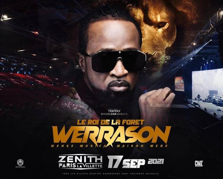 Werrason au Zénith de Paris : Voici les invités dévoilés et autres stratégies pour cet événement grandiose