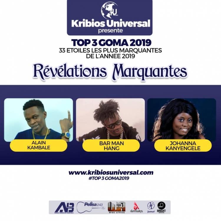 33 Étoiles les plus marquantes de l'année 2019 à Goma: Révélations