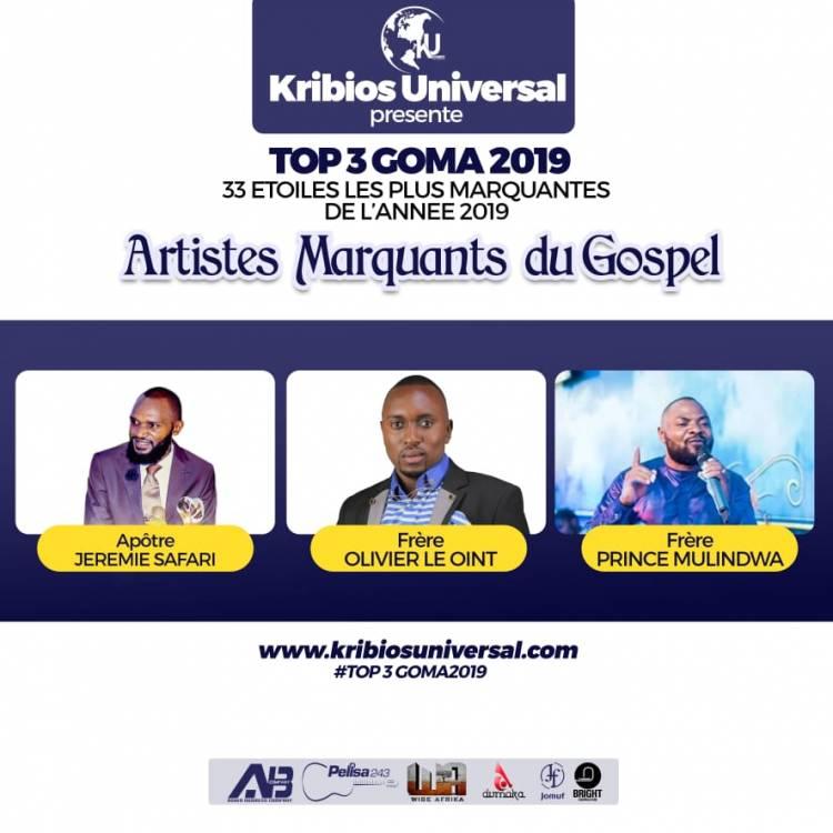 33 Étoiles les plus marquantes de l'année 2019 à Goma : Gospel