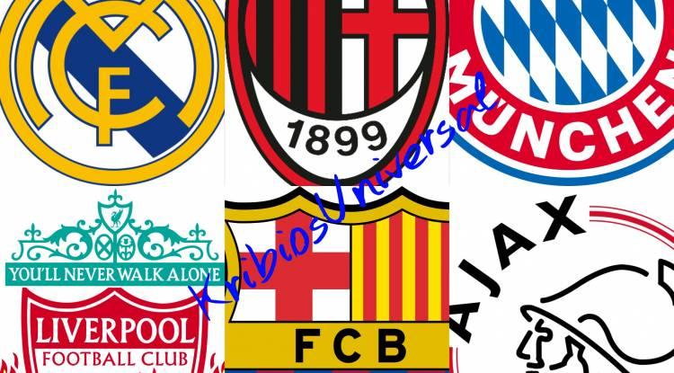 Top 5 de clubs les plus titrés en Ligue des champions UEFA