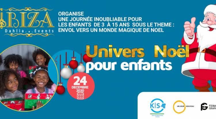 Univers Noël pour enfants, un évènement hors du commun à Goma !