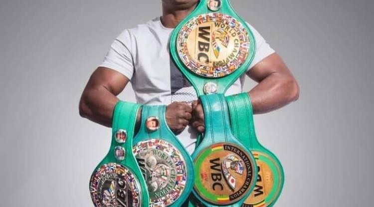 Retour sur le Boxeur Congolais Junior Ilunga, champion du monde WBC Golden, poids lourd-légers