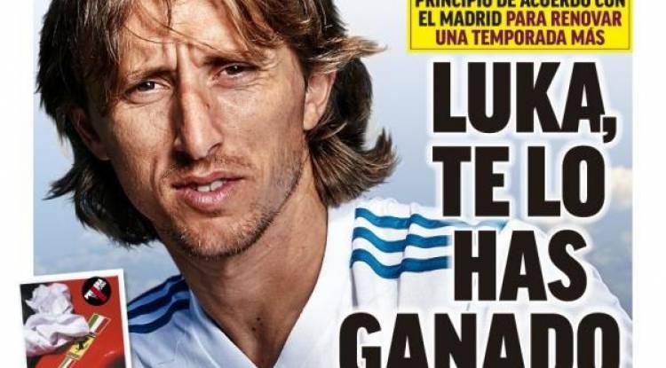 Modric prolonge jusqu'en 2022 !