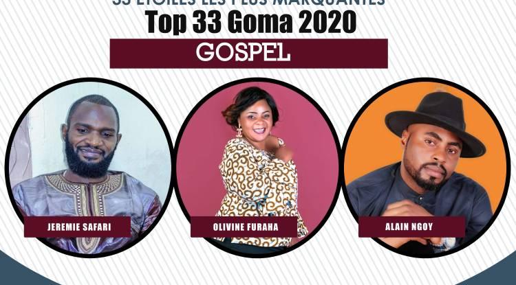 33 plus marquants en 2020: Gospel