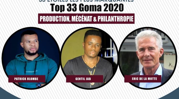 33 plus marquants en 2020 : Production & Mécénat & Philanthropie