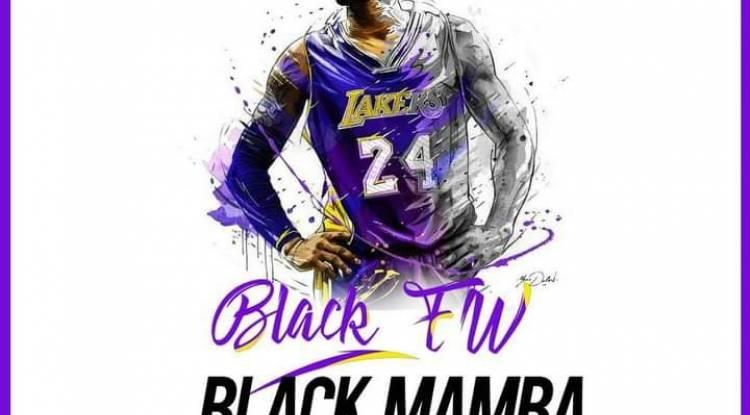 """Hommages Kobe Bryant: Black FW dévoile son nouveau single """"Black Mamba"""""""
