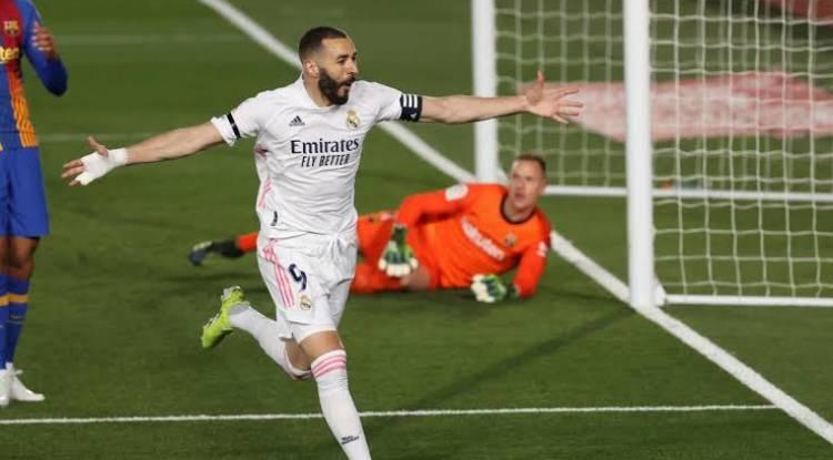 Clasico : Le but tout en finesse de Benzema...