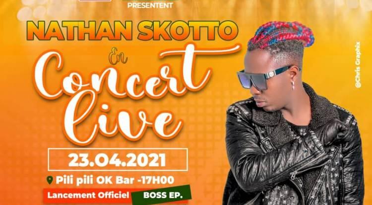 Nathan Skotto lance son opus Boss au travers un Live chez Pilipili