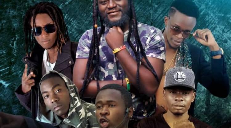 6 artistes réunis pour un concert à l'espace Bel'Air-Katindo à Goma