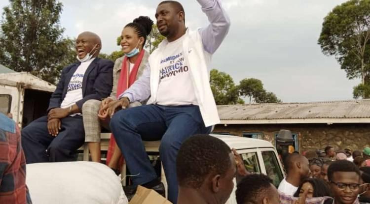 Patrick Munyomo vole au secours des familles sinistrées de l'éruption du volcan Nyiragongo