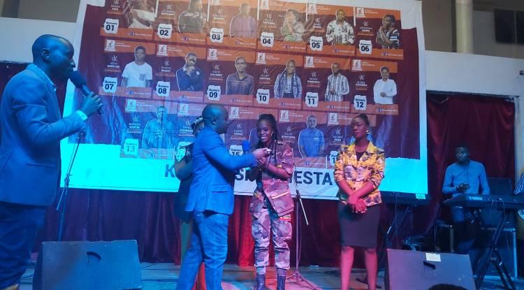 Glory Kaviswa gagne la 1ère édition du Kivu Gospel Fiesta