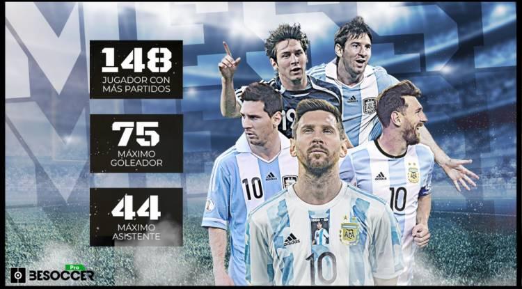 Messi au sommet de sa gloire avec l'Argentine