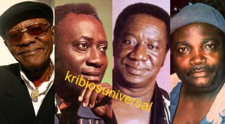 4 Grands Meilleurs artistes musiciens Congolais de tous les temps, de tous les jours