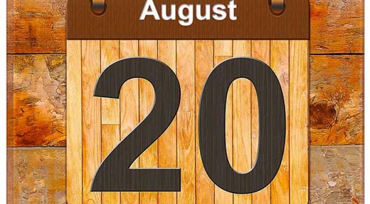 Ça a marqué le monde un certain 20 août