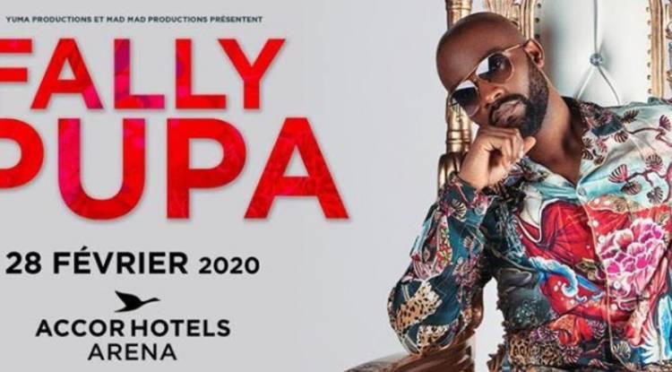 "Fally Ipupa s'annonce à Bercy ""Accor Hôtels Arena"" pour 2020 !"