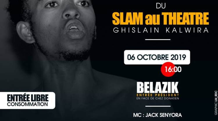 Du Slam au Théâtre, Ghislain Kalwira en live chez Belazik !