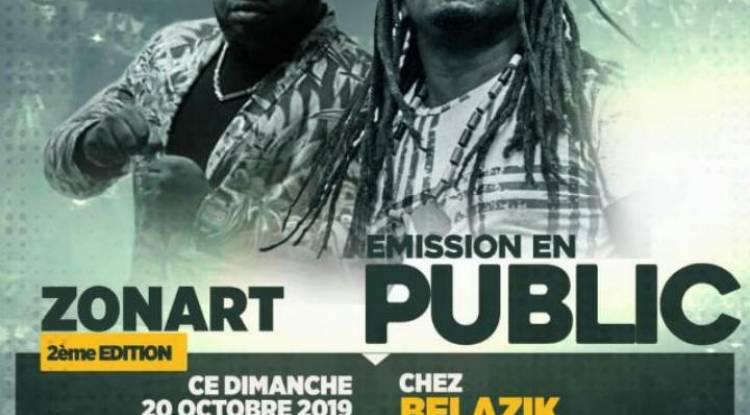 Calvin Mulungu vous présente la 2ème édition de l'émission ZonArt en public