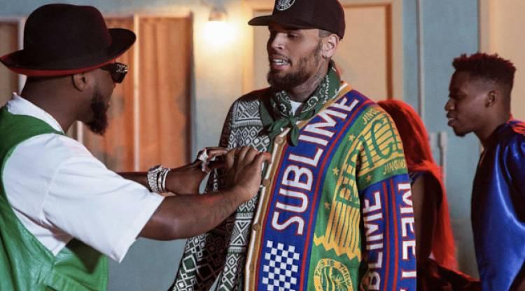 La surprise qu'a fait Chris Brown à Davido à Los Angeles