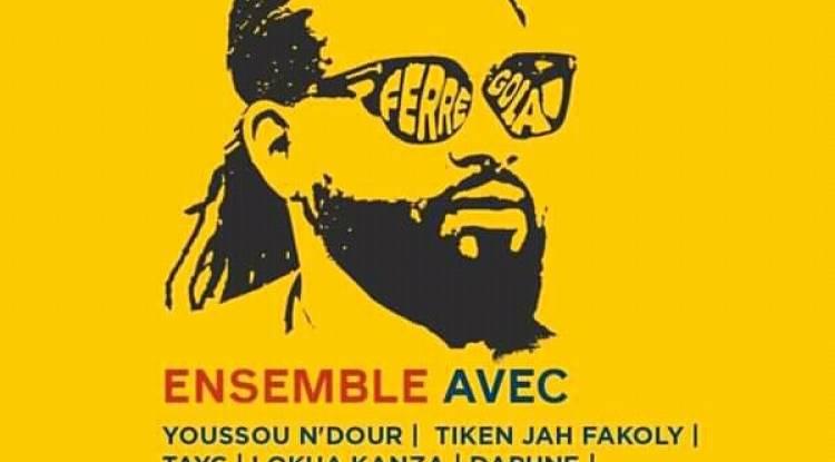 Ferré Gola, l'unique chanteur Congolais retenu pour participer au festival ''Africa Together''