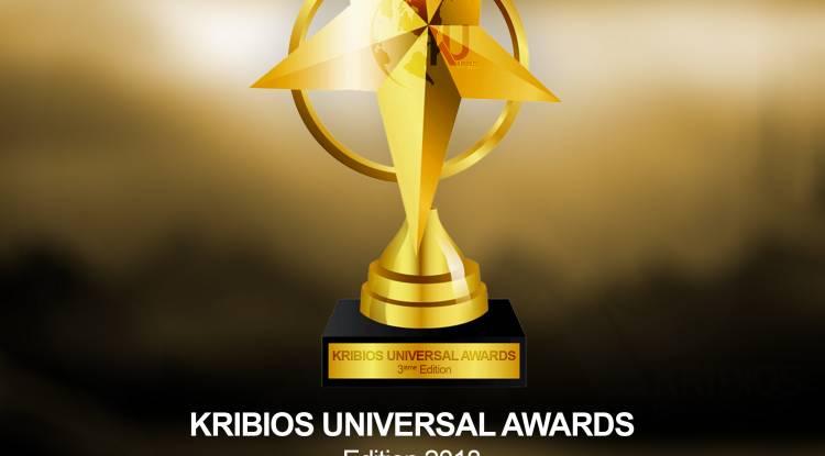 KRIBIOS UNIVERSAL AWARDS: 3ÈME ÉDITION 2018