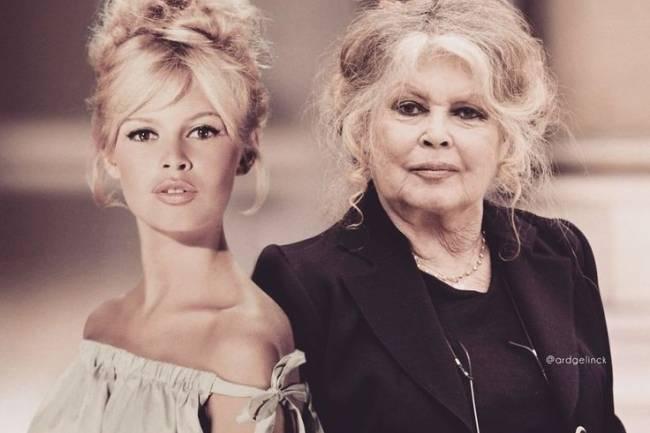 Clin d'œil sur la star mondiale Française des années 50-80, la styliste Brigitte Bardot