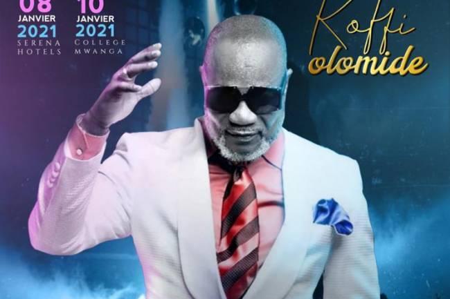 Koffi Olomidé attendu à Goma pour un double concert caritatif et humanitaire !