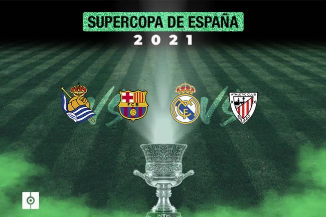 Supercoupe d'Espagne: Les demi-finales sont connues !