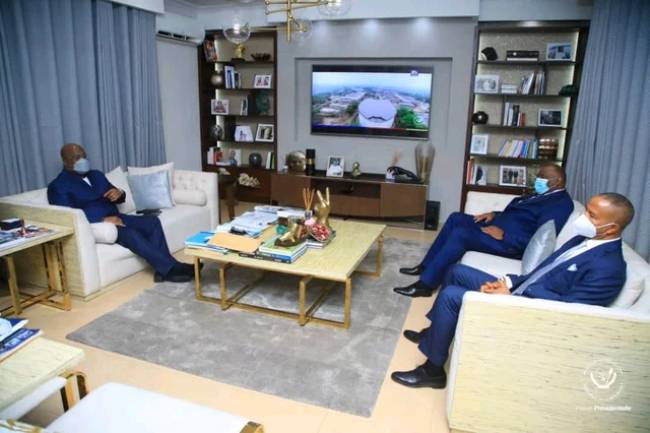 Crise politique en RDC: 3 heures d'échange entre Félix Tshisekedi, Moise Katumbi et Jean-Pierre Bemba...