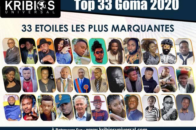 Les 33 Étoiles les plus marquantes de l'année 2020 à Goma