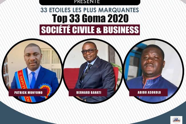 33 plus marquants en 2020: Société civile & Business
