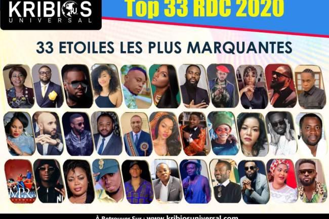 33 Étoiles les plus marquantes de l'année 2020 en RDC
