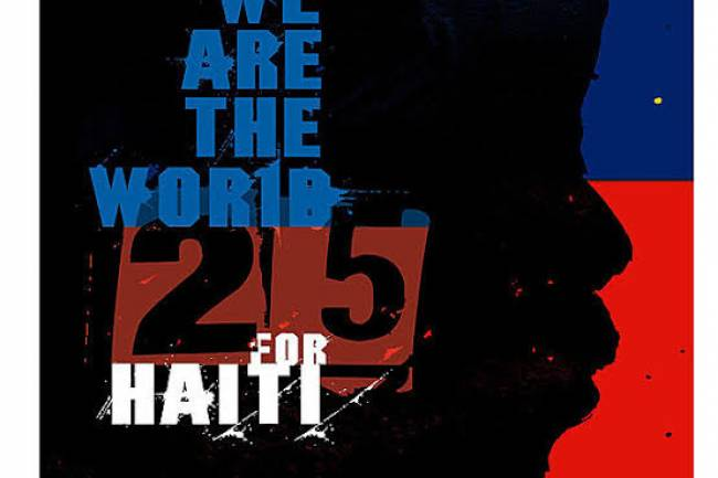 Quelques détails sur le tube We are the world (25 for Haïti)