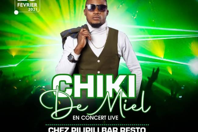 Chiki de Miel en live chez Pilipili Resto-bar !