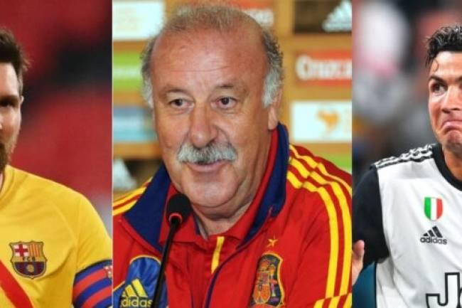 Cristiano ou Messi : Voici le meilleur joueur de l'histoire du football selon Vicente del Bosque