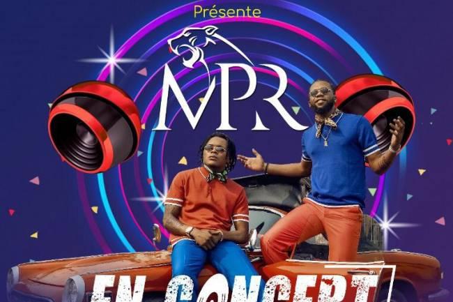 Le duo MPR dans une tournée à l'est de la RDC en mai 2021