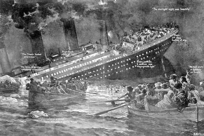 Le Naufrage du Titanic... Parlons-en !