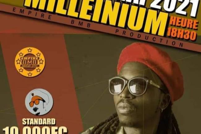 """Sortie officielle de """"Promesses"""", un nouvel opus de Wanny S'king au travers un grand show chez Millénium à Goma"""