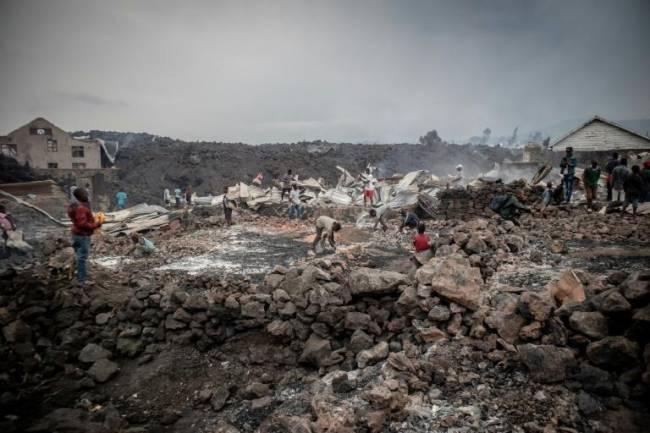 Éruption volcanique de Nyiragongo : Voici quelques détails du bilan officiel !