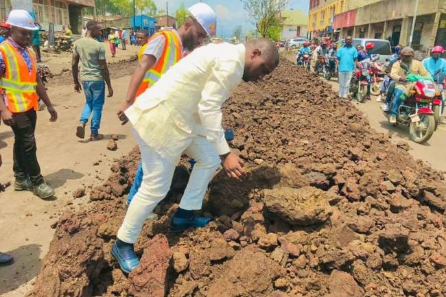 L'Honorable Patrick Munyomo à Goma : Voici les raisons de son séjour dans son fief