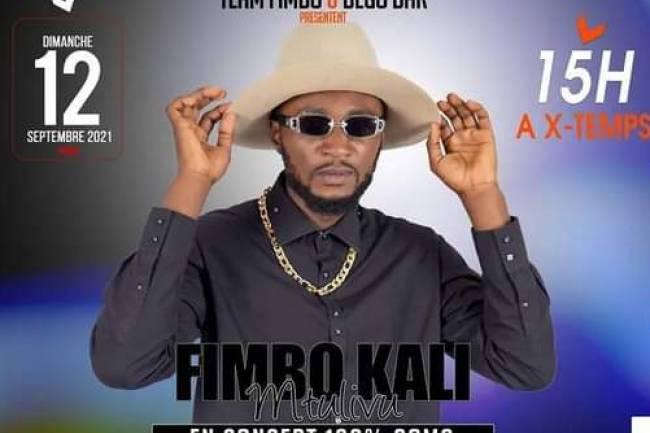 Fimbokali en concert le 12 septembre, promet de corriger les artistes de Karaokés chez Dego Bar