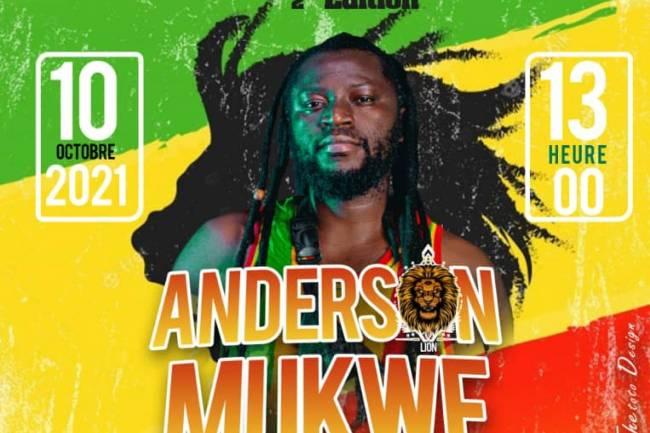 Reggae Inspiration Show : 6 artistes autour d'Anderson Mukwe au nom de la paix et la cohabitation pacifique entre Goma et Nyiragongo